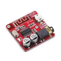 Mini decodificador mp3 receptor bluetooth 4.1 placa micro usb 3,7v - 5v modelo xy-bt-mini