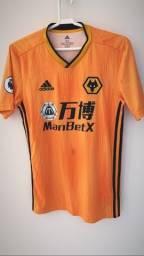 Camisa wolverhampton 19/20 - Original comprada no site e importada!