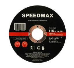 Disco De Corte Aço/inox 4 1/2 Speedmax 100 Pçs Promoção Kit