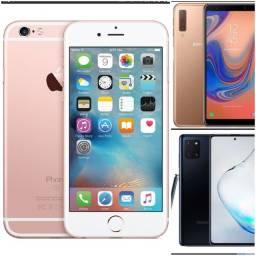 Título do anúncio: Iphone 6s, Galaxy A7 2018, Galaxy Note 10