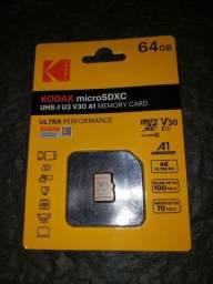 Cartão de memória kodak 64GB original