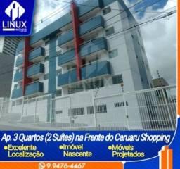 Apartamento de 03 quartos no Indianópolis, Caruaru/PE para Locação