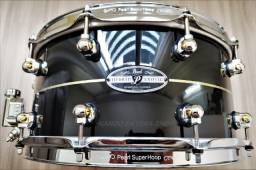 Caixa Pearl Hybrid Exotic 14x6,5 Fiberglass/Kapur - Nova!