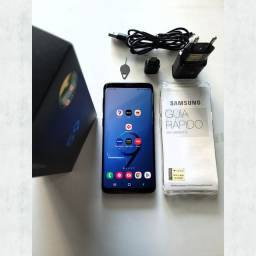 Título do anúncio: Vendo Celular Samsung Galaxy S9 128gb Duos (seminovo) + Capinha.