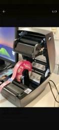 Impressora  para fita de cetim e etiqueta