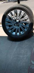 Jogo de toda pneus aro 16/R50 84v novo,e jogo de rodas usado