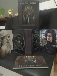 Box Dvds Game Of Thrones 1a Temporada Completa 5 Dvds