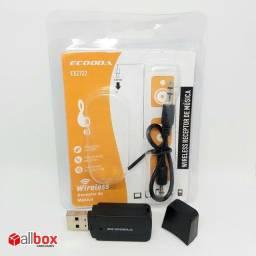 Adaptador Bluetooth para som