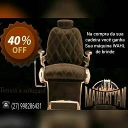 Título do anúncio: Cadeira para barbeiro com resistência maxima venham conhecer nossa loja online!