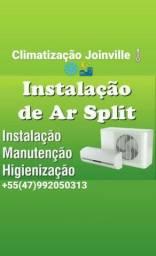 Instalação ar condicionado manutenção infraestrutura