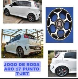 Título do anúncio: Rodas  aro  17   Punto t Jet  originais  Fiat