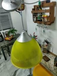 Luminária pendente acrílico