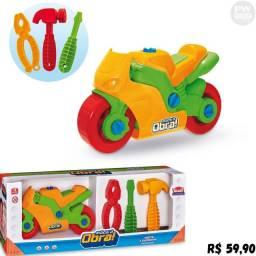 Moto Brinquedo monta e desmonta - Loja PW STORE