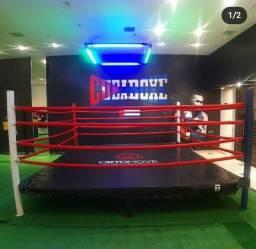 Plano academia de boxe
