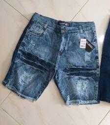 Bermuda Jeans atacado R$ 23,99