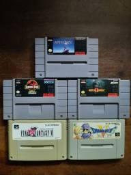 Fitas para Super Nintendo