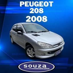 206 2007/2008 1.6 FELINE 16V FLEX 4P AUTOMÁTICO