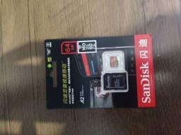 Cartão de memória Sandisk 64gb extreme