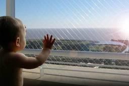 Redinha, telinha de proteção telas instalada em Apartamento sobrado Goiânia