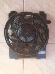 eletroventilador ventoinha auxiliar ar condicionado chevrolet corsa montana completa