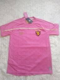 Camisa Sport outubro rosa - Tamanho G