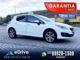Peugeot 308 Griffe 1.6 TB Flex 5p Aut. - 1 Ano de Garantia - IPVA 2021 Pago - Lindo - 2017