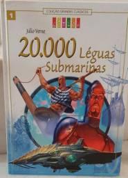Livro 20.000 Léguas Submarinas