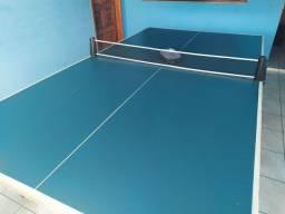 Mesa de tênis de mesa + rede ( tamanho oficial )