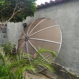 Parabólica 240cm c/ LNB