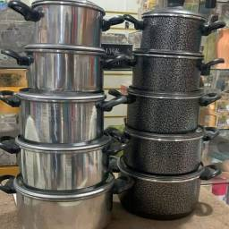 Título do anúncio: Kit 5 peças aluminio
