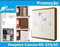 roupeiro Cancún promoção!!!