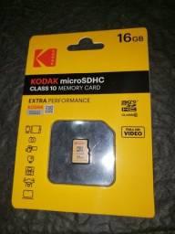 Cartão de memória kodak 16GB original novo lacrado