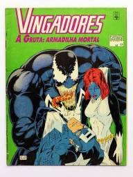 Graphic Marvel n.17 - Vingadores - A Gruta Armadilha Mortal [Marvel | HQ Gibi Quadrinhos]