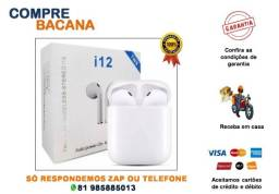 Fone I12 Tws Bluetooth V5.0 Touch Ios Android