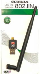 Adaptador Wireless Usb Wifi Internet Sem Fio Antena Wi-Fi (Atacado e Varejo)