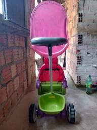 Carrinho de bebê R$ 200, Porta de alumínio R$ 290