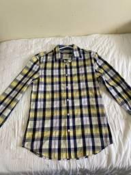 Camisa quadriculada Tamanho P (2)