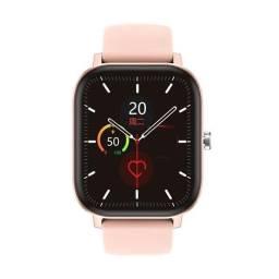 Relógio Smartwatch P8 Pro Max (dt36), Preto / Rosa .
