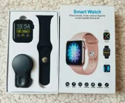 Relogio Smartwatch W98 Monitor De CORRIDAS, CICLISMO, TEMPERATURA E BATIMENTOS CARDÍACOS