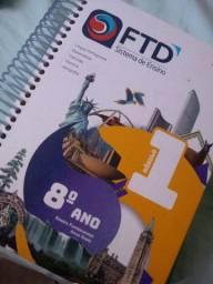 Livros FTD usados montes claros 8 ano