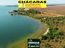 Título do anúncio: Chácaras parceladas sentido Porto com 30 metros de Lago