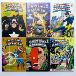 Capitão América (Almanaque) vários [Marvel | HQ Gibi Quadrinhos]