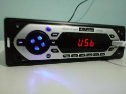 LEIA! radio automotivo USB