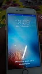 Iphone 6 de 64 GB branco Anatel.( Com nota fiscal )