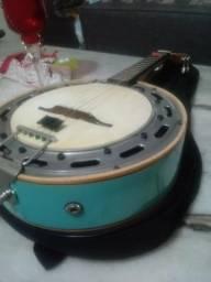 Banjo Del vechhio Azul + capa beg Profissional captado