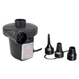 Inflador - Bomba De Ar Elétrica Inflar Encher Colchão e Piscina