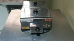 Derretedeira industrial 2 cubas - pouco uso
