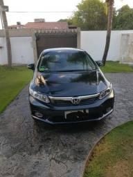Honda Civic EXR 2.0 - Versão com todos os opcionais e teto solar - 2014