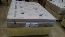 Cama box casal molas ensacadas super pocket só 899 a vista/zap 98474-0945
