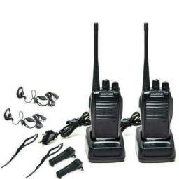 Kit 2 Rádio Comunicador Walk Talk Baofeng Bf-777s Trabalho ou Lazer